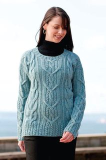 Cable lovers sweater. Classic with a modern twist. Free pattern.