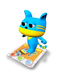 AR characters: Momo Augmented Reality interactive card from Amagicland. 3D animations, sound & music. www.amagicland.com