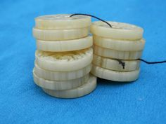 SET Lucite Plsstic Vintage Buttons by legacybuttons on Etsy