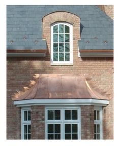 Copper Clad Stainless Steel Gutters as a lower cost alternative to full copper.