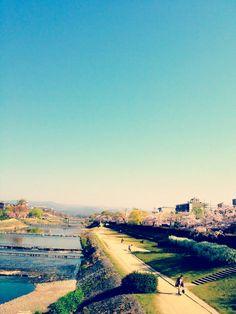 The Kamo River