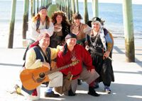 Be sure to come to the Pirate Invasion #inBeaufort to meet the Motley Tones!