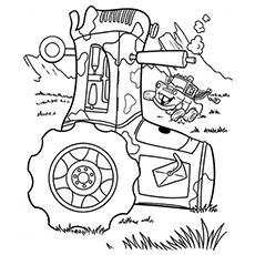 """""""Cars"""" is a famous 2006 Disney movie about car racing. The movie features different kinds of cars.Here we offer 10 free printable Disney cars coloring pages"""