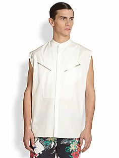 3.1 Phillip Lim Zip Pocket Shirt