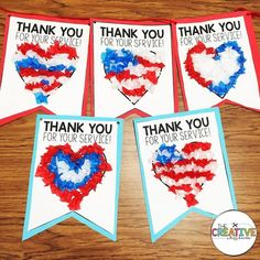 We created our sweet patriot banner with letters on back to send off to our heroes who defend and protect our country each day. We are celebrating Patriot Day this Friday at school and will honor our service men and women. This writing and craft banner is now available in my TPT store using the link in my bio. Idea for veterans day:
