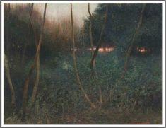 Benjamin Haughton (1865-1924), Sundown.
