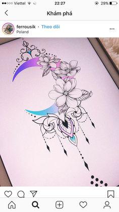 Best 11 - Her Crochet Pretty Tattoos, Love Tattoos, New Tattoos, Body Art Tattoos, Tattoo Drawings, Small Tattoos, Tattoos For Women, Tattoos Skull, Art Drawings