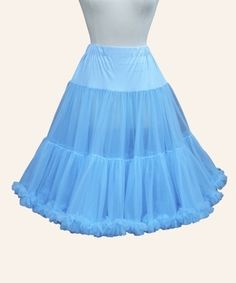 powder blue crinoline :)