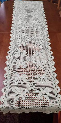 Crochet Patterns Filet, Crochet Tablecloth Pattern, Crochet Coaster Pattern, Doily Patterns, Crochet Doilies, Thread Crochet, Crochet Stitches, Knit Crochet, Crochet Toddler Dress
