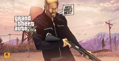 Grand Theft Auto artwork by Street Hustle.