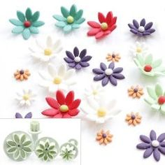 daisy 4piece Gumpaste Plunger (one of many styles) for R40.00
