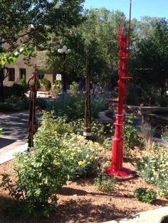 Garden art...