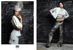 Kendall Jenner for V Magazine #100. Photo: Karl Lagerfeld