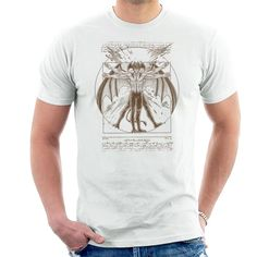 Shop Vitruvian Devil Devilman Crybaby Men's T-Shirt by Andriu. Available on range of apparel with international shipping.