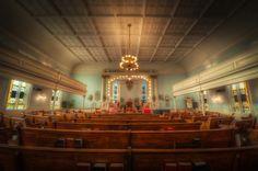 Interior of First African Baptist Church, Savannah, GA