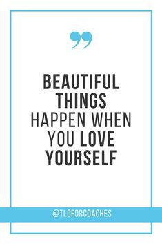 Beautiful things happen when you love yourself. Self Belief Quotes, Self Love Quotes, Love Yourself Quotes, Positive Words, Positive Quotes, Motivational Quotes, Inspirational Quotes, Feel Good Quotes, Best Quotes
