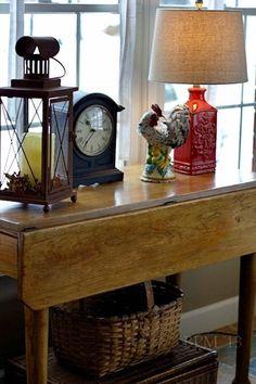 Antique Drop Leaf Gate Leg Table - WoodWorking Projects & Plans