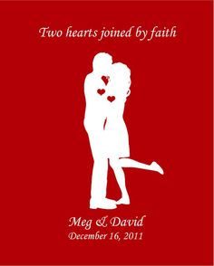 TWO HEARTS JOINED BY FAITH
