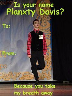 Irish dance humorous valentines