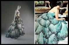 "Christian Dior's ""Junon"" dress. Fall/Winter 1949–50"