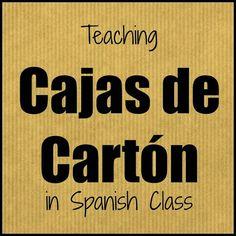 Planning for Cajas de Cart�n | Mis Clases Locas