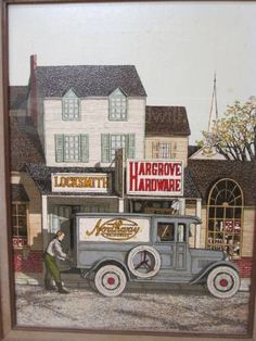 H. Hargrove Oil Painting on Canvas