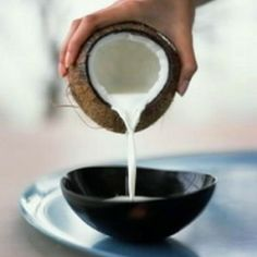 The Benefits Of Coconut Milk For Hair Growth | See more about coconut milk, hair growth and coconuts.