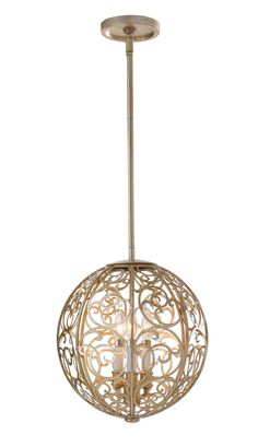 This circular design is beautifully crafted with a bronze finish. Would look good in any room.