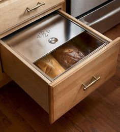 Bread Box Drawer love this! Oh hubby I have one more project