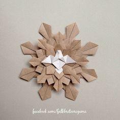 Origami Mandala Divino Espírito Santo