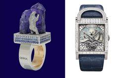 Polar bear jewelry watch. Delaneau Cadeaux