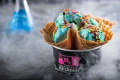 N2 Lab Liquid Nitrogen Ice Cream on Behance