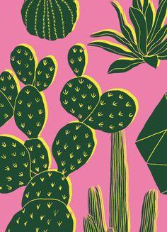 Hello Marine Cactus Card