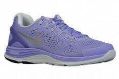 brand new ec167 86c7f Chaussures Nike Lunarglide 4 pour courir Femme Bleu Nuit   Doger Bleu   Or    Rouge
