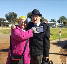 This wonderful couple brother and sister Honey are both 87 and still power along in the full time service in the Kalgoorlie congregation Western Australia . They are so encouraging to us all and much loved! http://ift.tt/2aZTVRu
