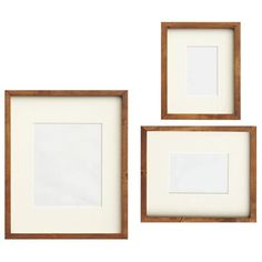 pottery barn wood gallery picture frame set of 3 71 liked on