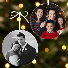 Deck the tree with friends and family. We'll transform your favorite photos and artwork into an unforgettable gift. Simply upload your photo.