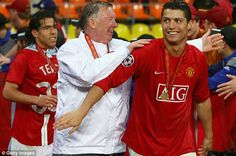 Ferguson turned Cristiano Ronaldo from a showboating teenager into one of the worlds best