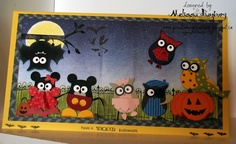 Stampin' Up! Owl Punch by Melissa Banbury at Porch Swing Creations: Halloween in Owlville