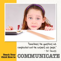 Teach Your Child How to Communicate is just one lesson from our free ebook Every School Year Counts.  #communicate #everyyear    http://www.susanme.com/2012/09/teaching-children-how-to-communicate/