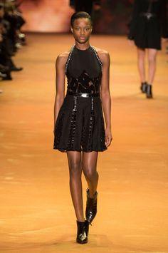 Thierry Mugler at Paris Fashion Week Fall 2016 - Runway Photos