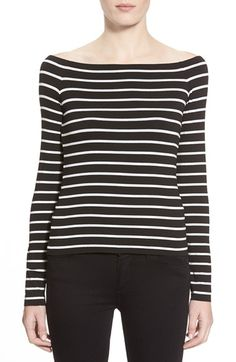 Free shipping and returns on Bailey 44 'Jacqueline' Stripe Top at Nordstrom.com…