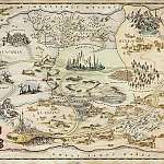 OZ THE GREAT AND POWERFUL: Map of Oz