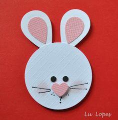 bunny head punch art - bjl
