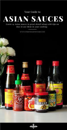 Have you ever attempted to try some Asian sauces but don't know what to do? In this guide, you'll learn 14 Asian sauces and how to use them in your cooking. #cooking #asian