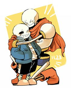 Brother love ❤️- Sans and Papyrus- Undertale