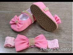 Debora DiCastro-Como colocar sola no sapatinho de tecido…