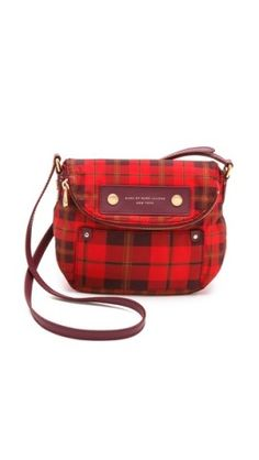Marc by Marc Jacobs Preppy Nylon Aimee Plaid Mini Natasha Bag // SHOPBOP