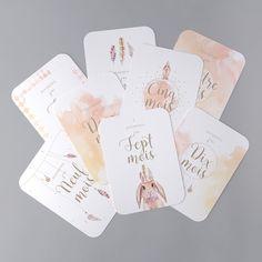 Cartes Étapes Bébé - BC01-001