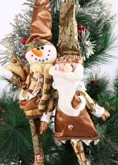 Fashion Santa Claus Hang Christmas Decoration Ornaments Xmas Home Decorations #Unbranded